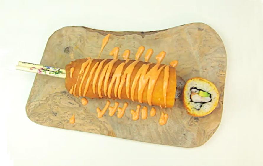 sushi-corndog