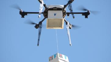 7-Eleven - drone - slurpee -1