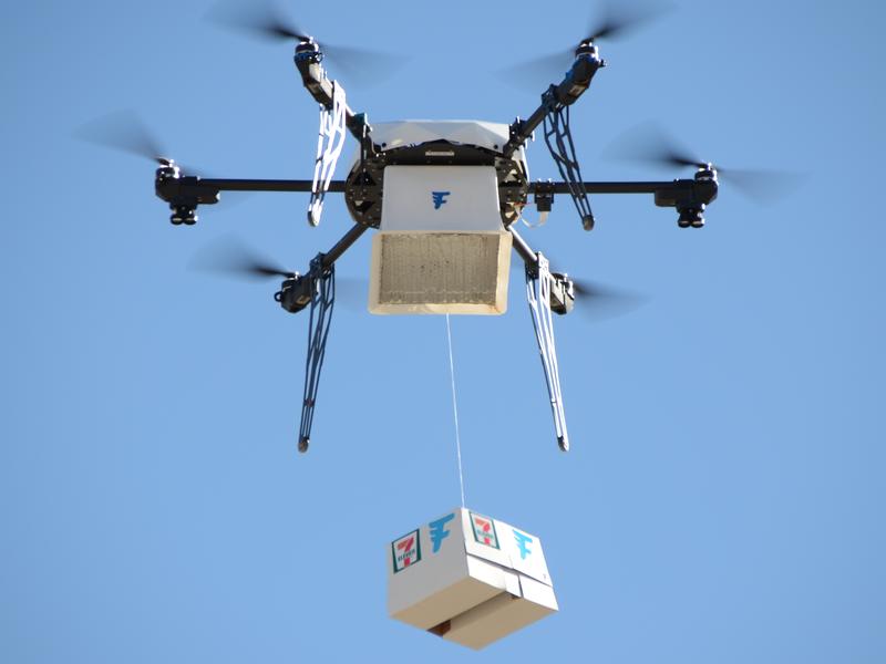7-Eleven propose de livrer ton granité par drone