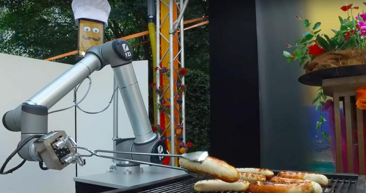 Bratwurst Bot, le robot qui gère vos barbecues