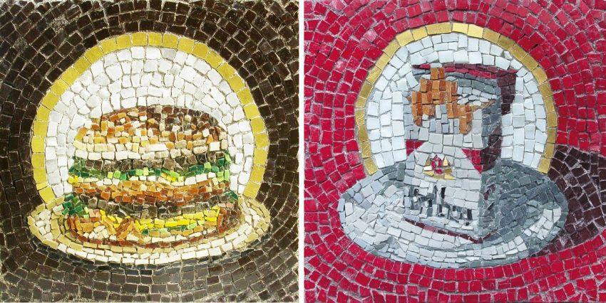 Admirez les mosaïques en street art de Jim Bachor
