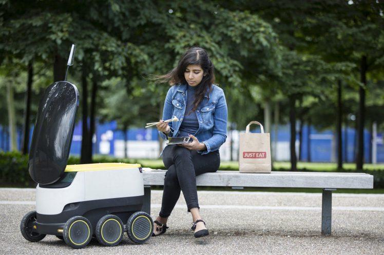 Just Eat livrera bientôt les repas avec un robot