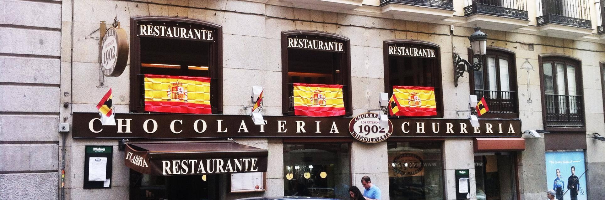 Top les 5 meilleurs churros de madrid - Artesanos de madrid ...