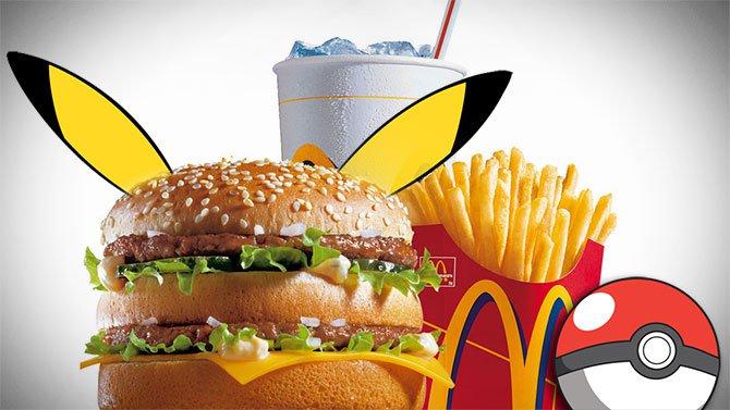 Pokémon GO : bientôt des arènes sponsorisées McDonald's ?
