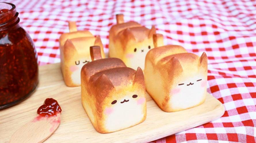 Ces petits pains en forme de chats sont à croquer