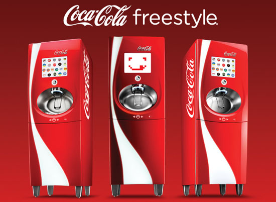 La machine Coca-Cola Freestyle arrive chez Five Guys France