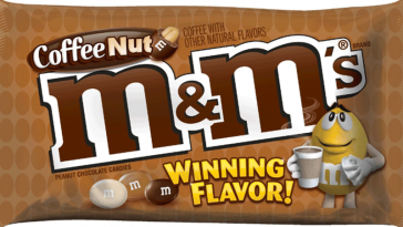 coffee nut m&m's
