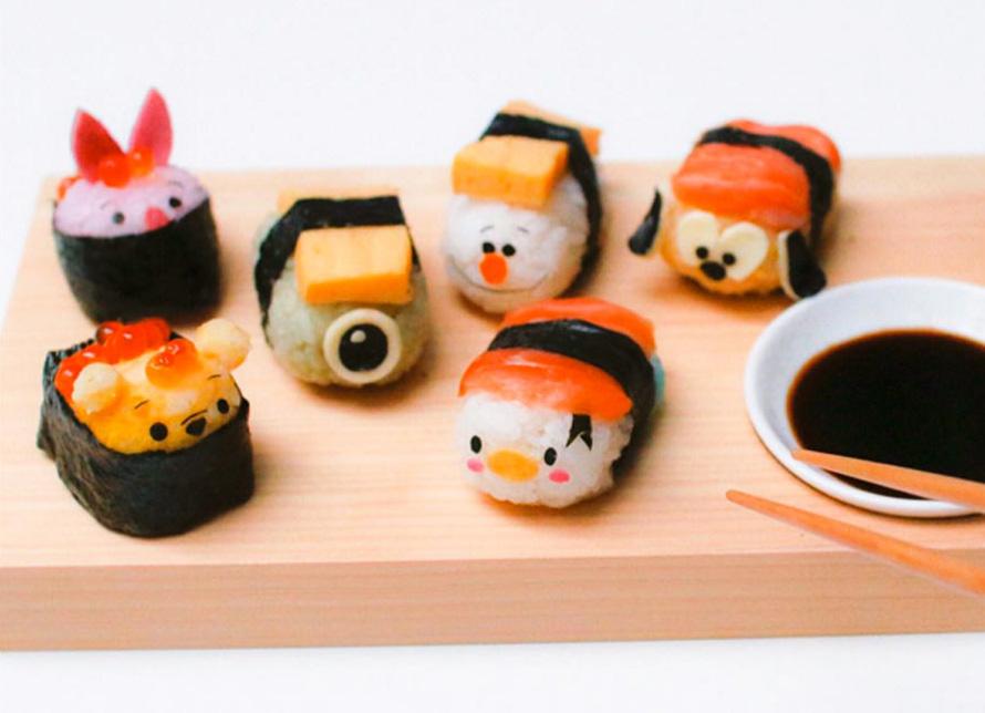 Ces sushis Disney vont vous faire craquer