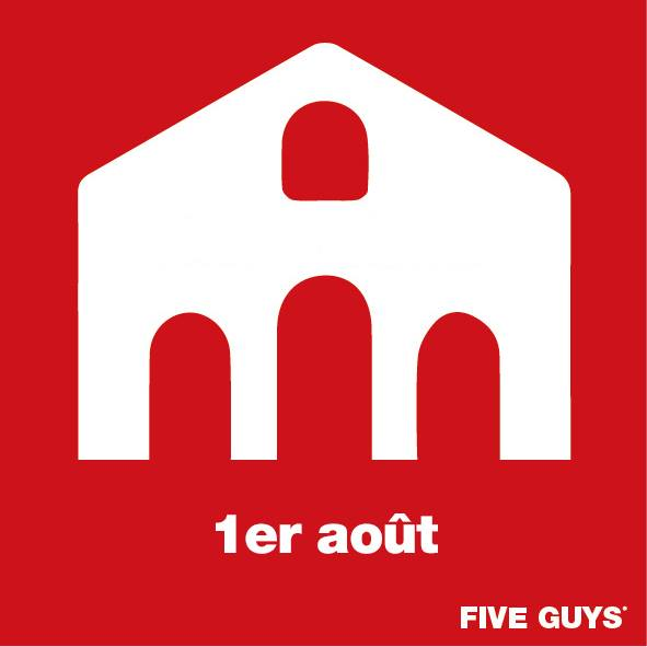 five guys bercy village