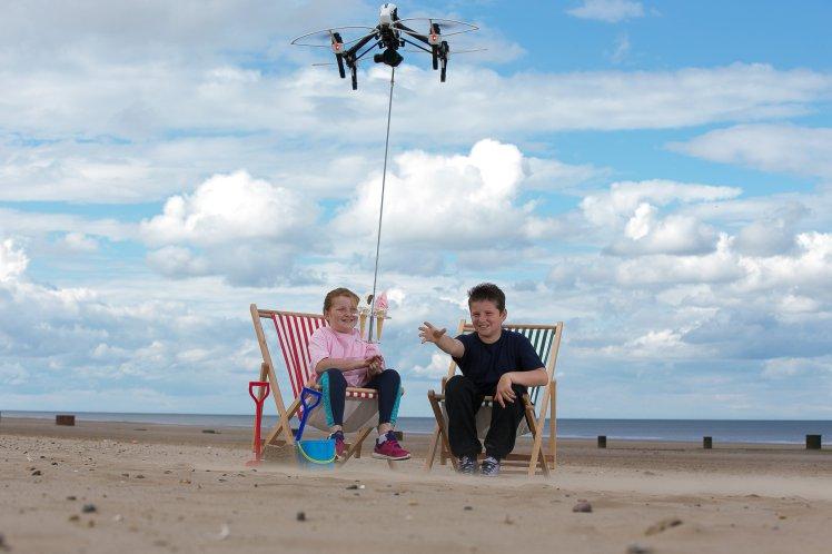 Se faire livrer sa glace par un drone est maintenant possible