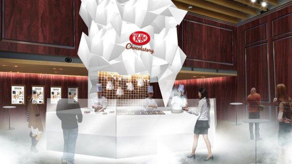 Kit Kat teste la cuisine moléculaire au Japon