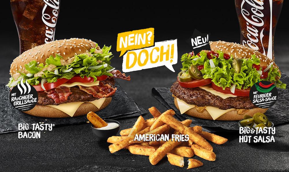 McDonald's teste de nouvelles frites avec un Big Tasty Salsa