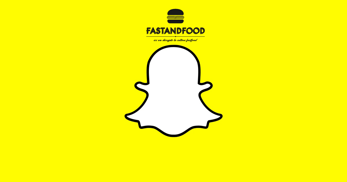 Street Food is everywhere, FASTANDFOOD is on Snapchat, with you ?!