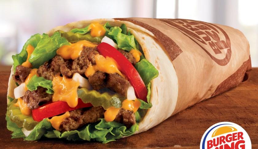 Burger King lance le Whopperrito aux Etats-Unis