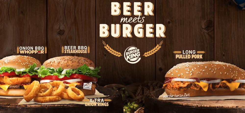 Burger King lance un burger à la bière pour Oktoberfest