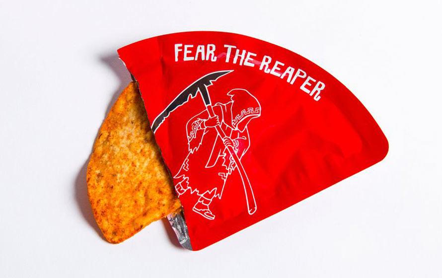 La tortilla chips la plus piquante du monde se vend à l'unité