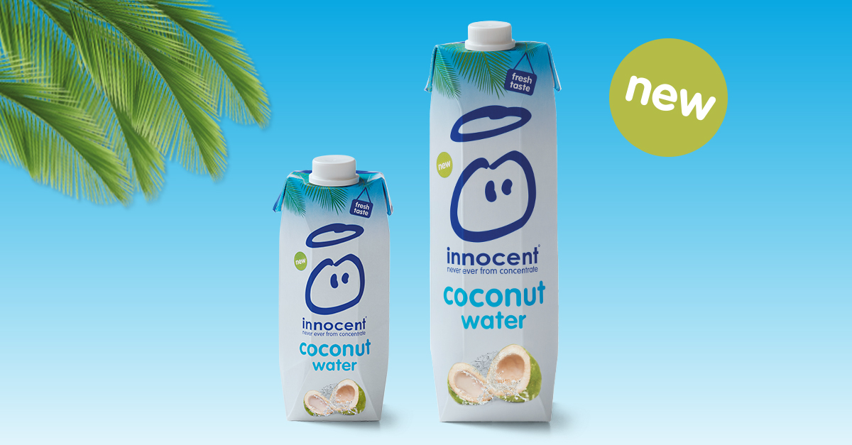 Innocent vous offre de l'eau de coco gratuitement aujourd'hui !