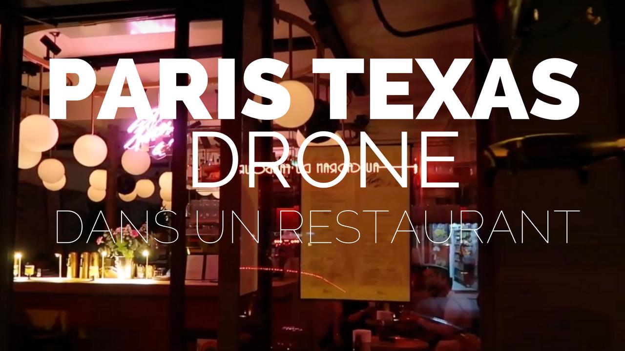 Comment faire voler un drone dans un restaurant ?