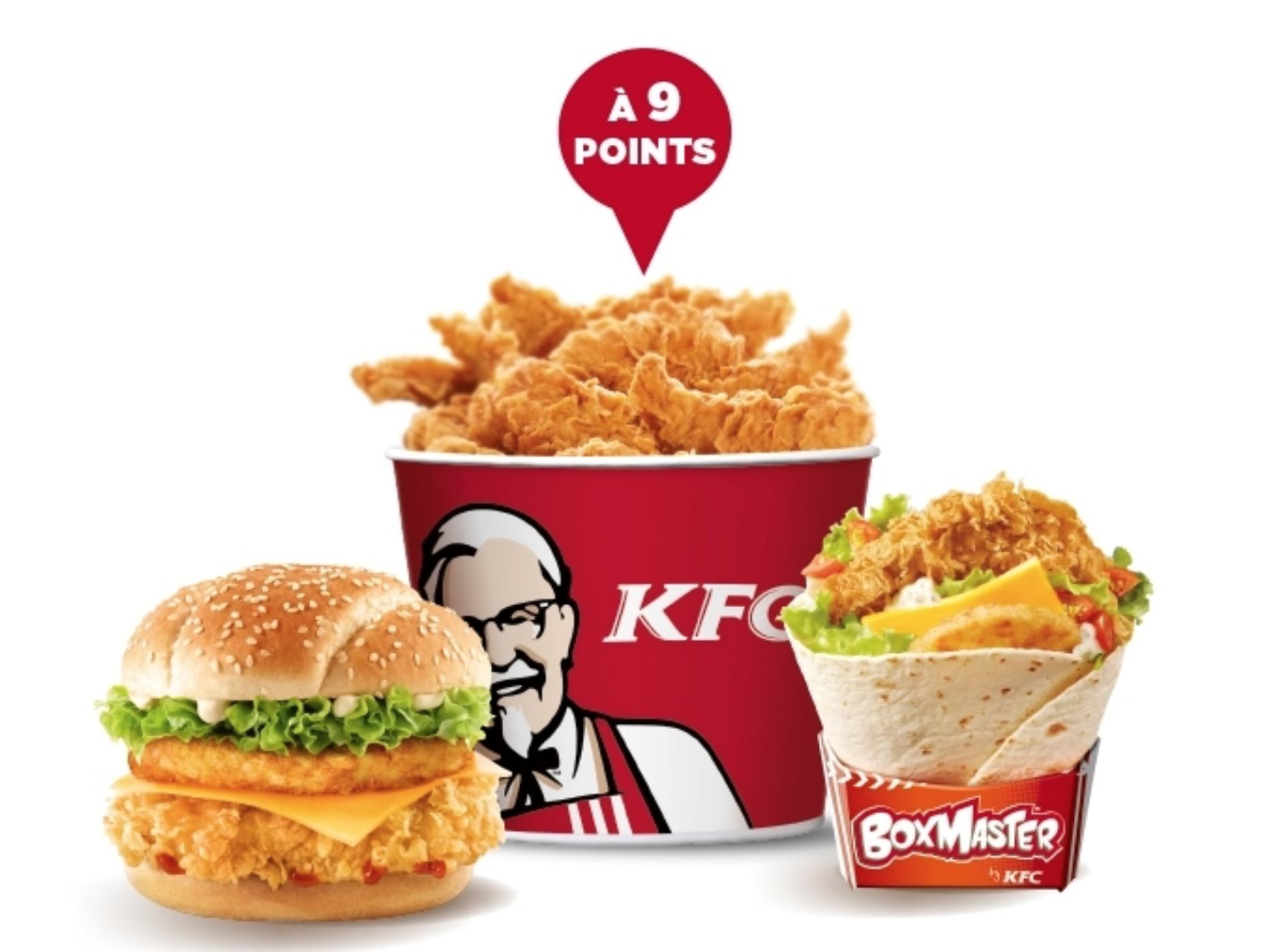 KFC vous livre enfin à domicile, vive le bucket à la maison ou au bureau !