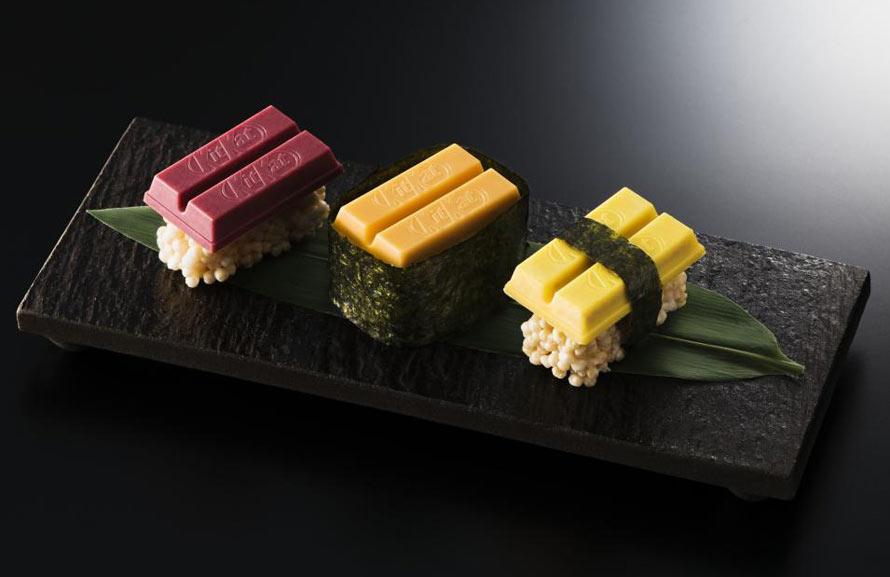 Le Kit Kat Sushi est disponible au Japon