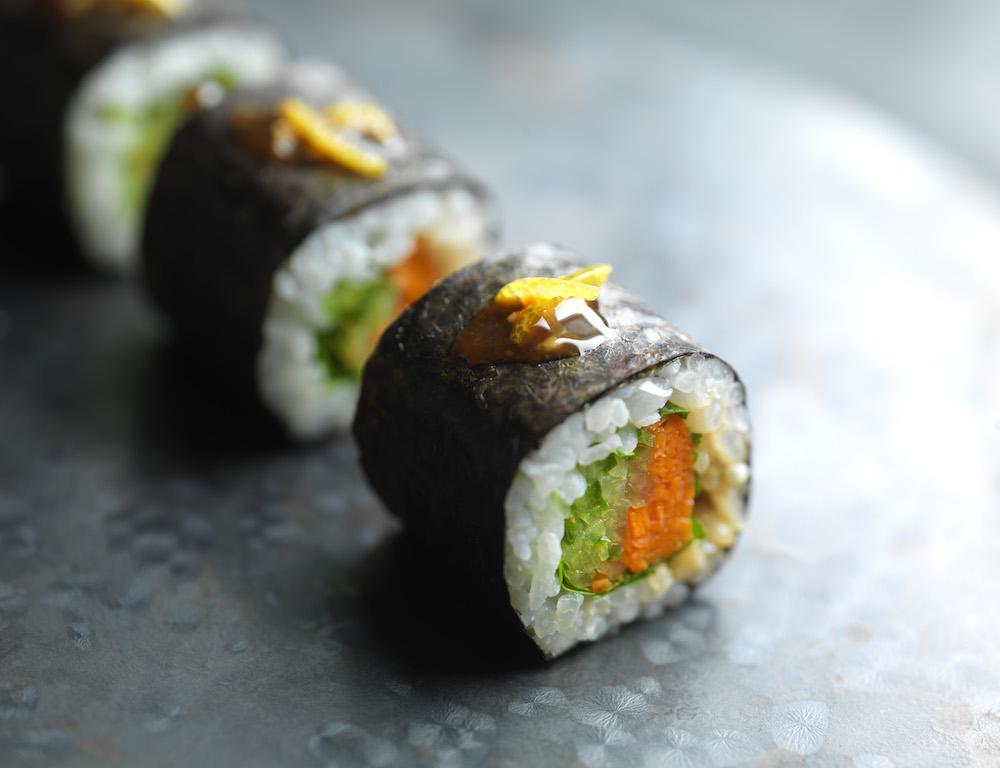 Le chef Kei Kobayashi signe la carte de Sushi Shop en 2017