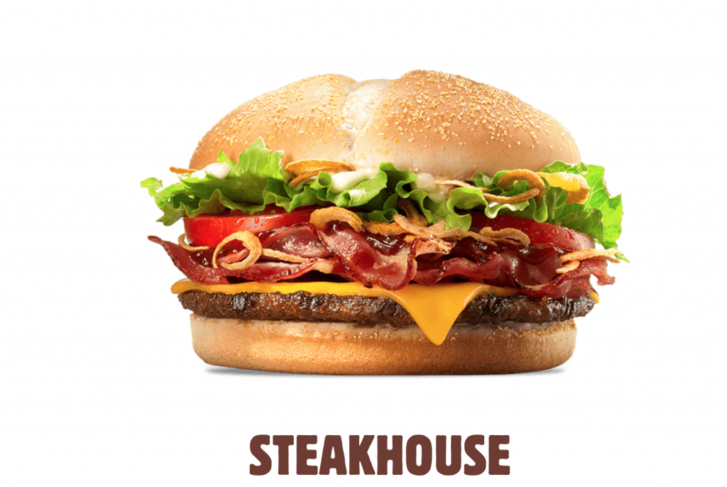 Test le steakhouse de burger king for Burger de
