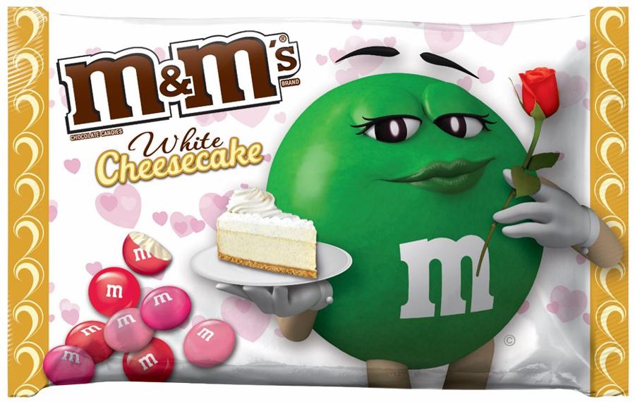 M&M's lance le parfum Cheesecake pour la St Valentin