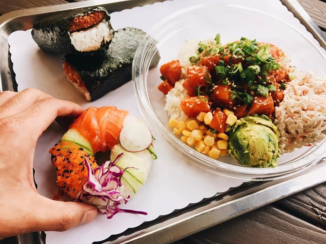 Le Sushi Donut est le nouveau produit qui cartonne à Los Angeles