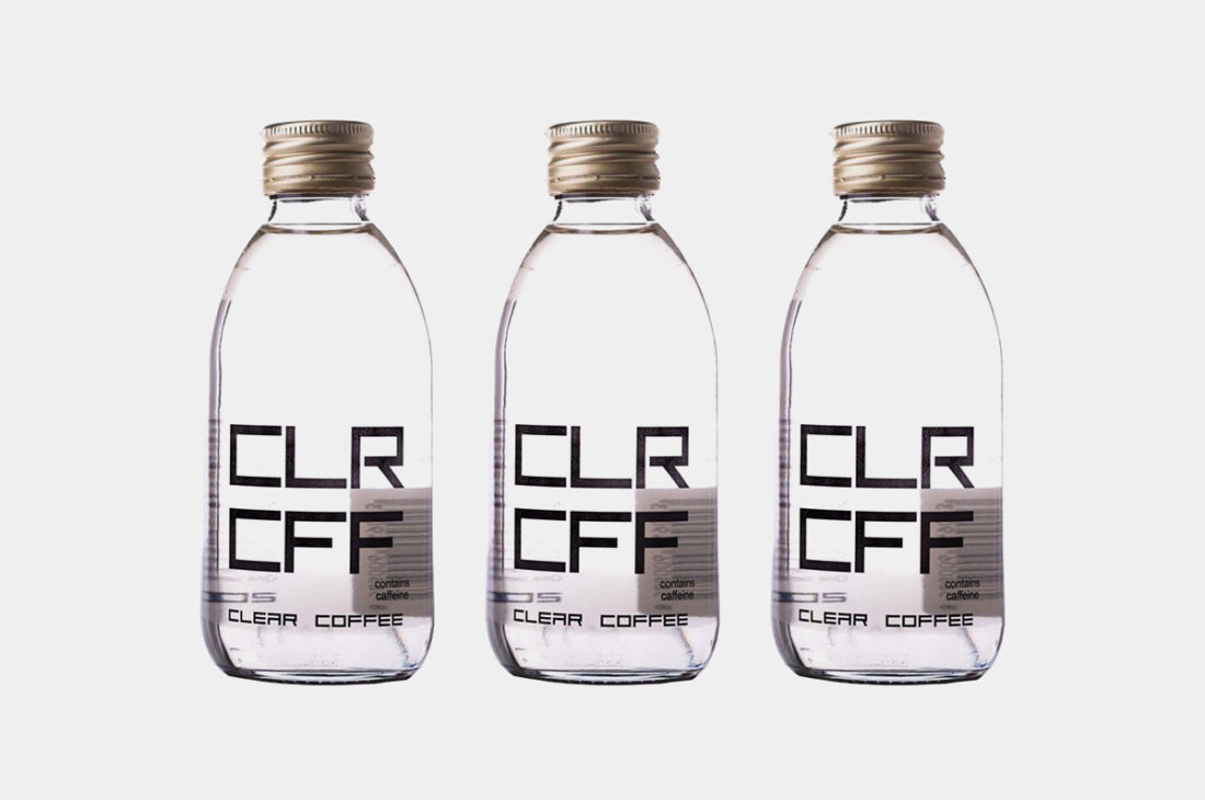 Clear Coffee, le premier café transparent au monde