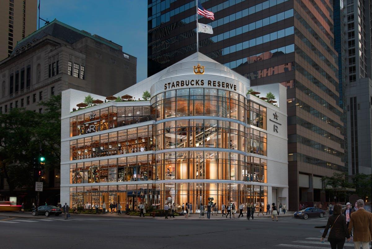Starbucks lance le Disney World du café à Chicago