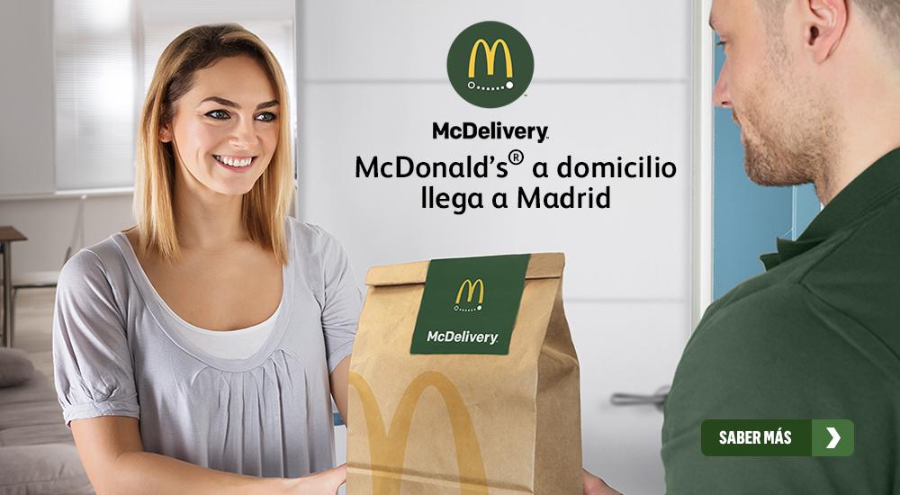 McDelivery, la livraison McDonald's arrive en Espagne