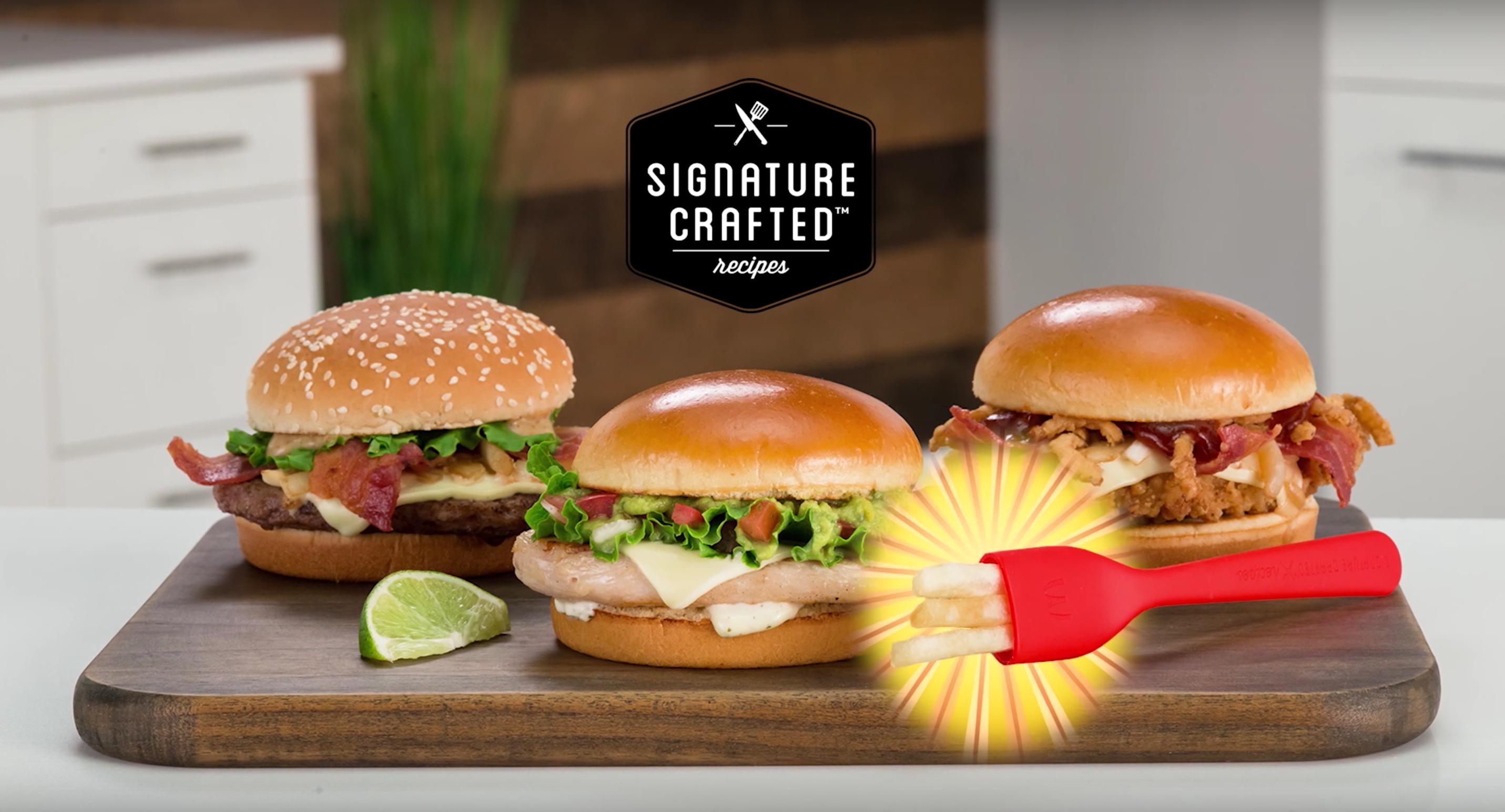 McDonald's lance une fourchette à frites