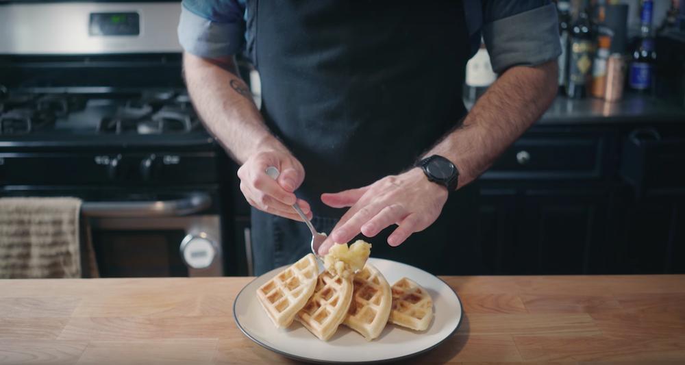 La recette des gaufres «Moon Waffle» d'Homer Simpson