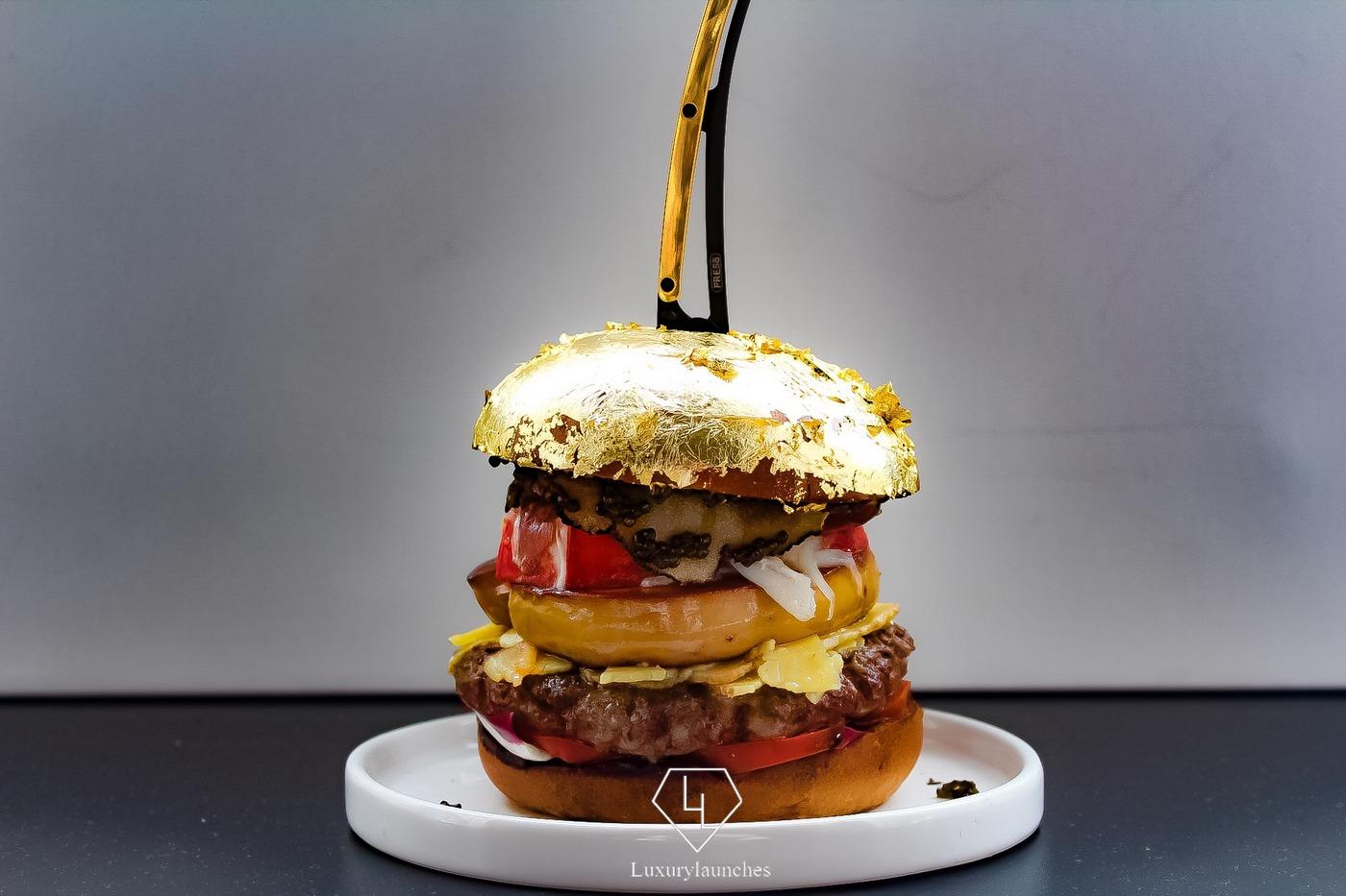 Le burger le plus cher au monde est recouvert d'OR…