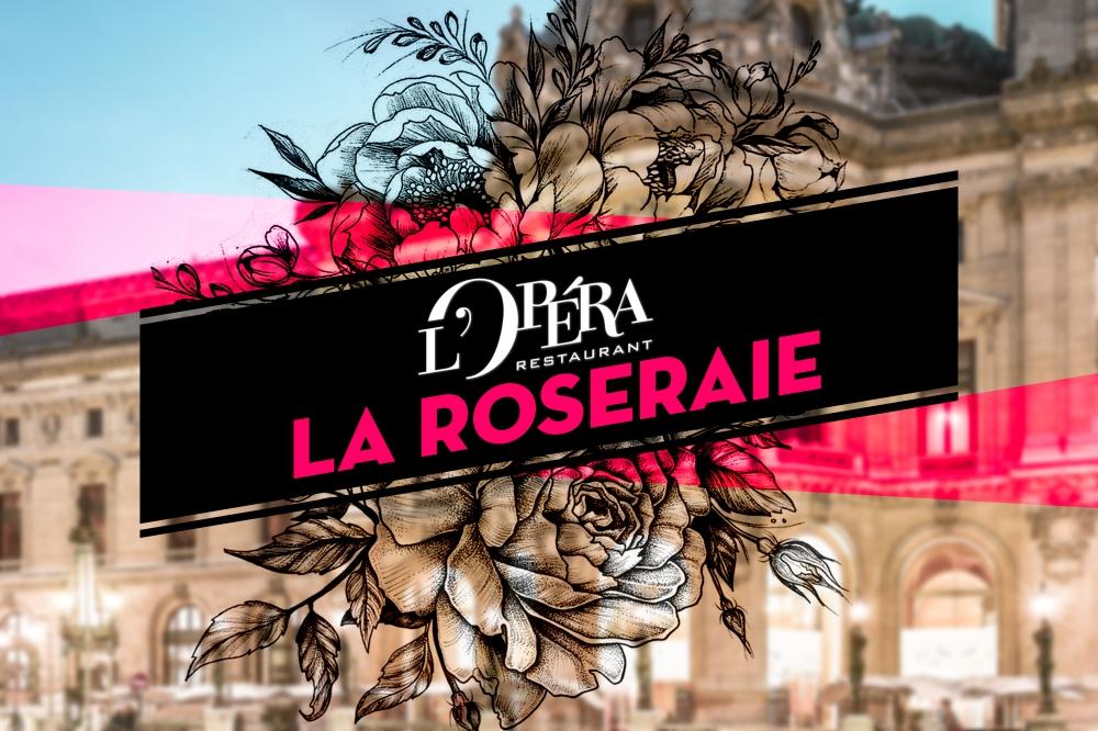Envie de chiller et de voir la vie en rose ? Direction la Roseraie de L'Opéra by Cointreau !