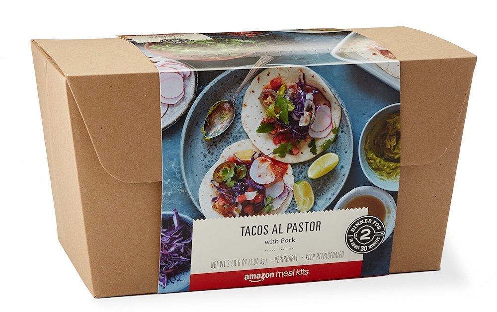 Amazon se lance dans la livraison de kits repas