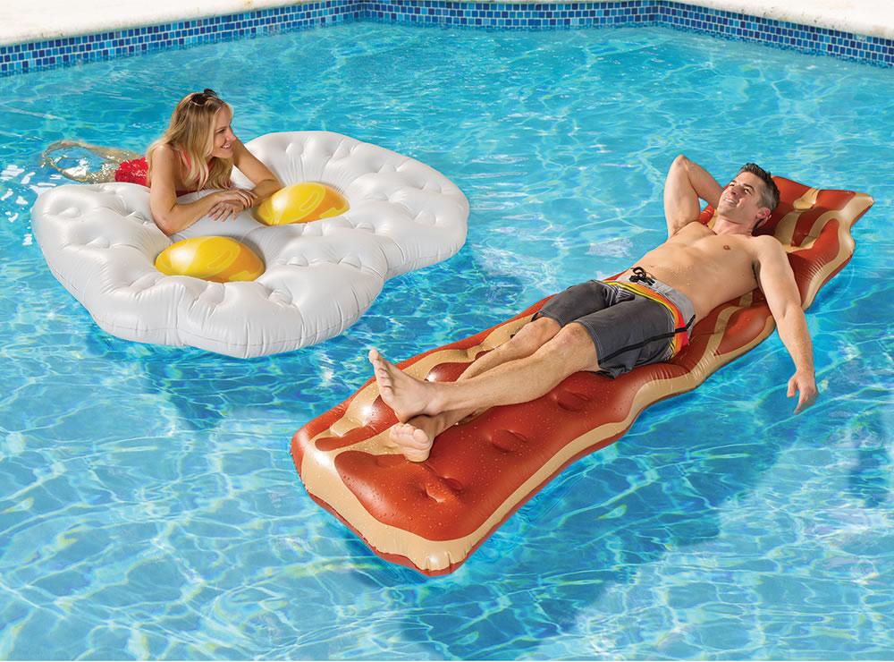 Les meilleures bouées de l'été : Bacon & Egg