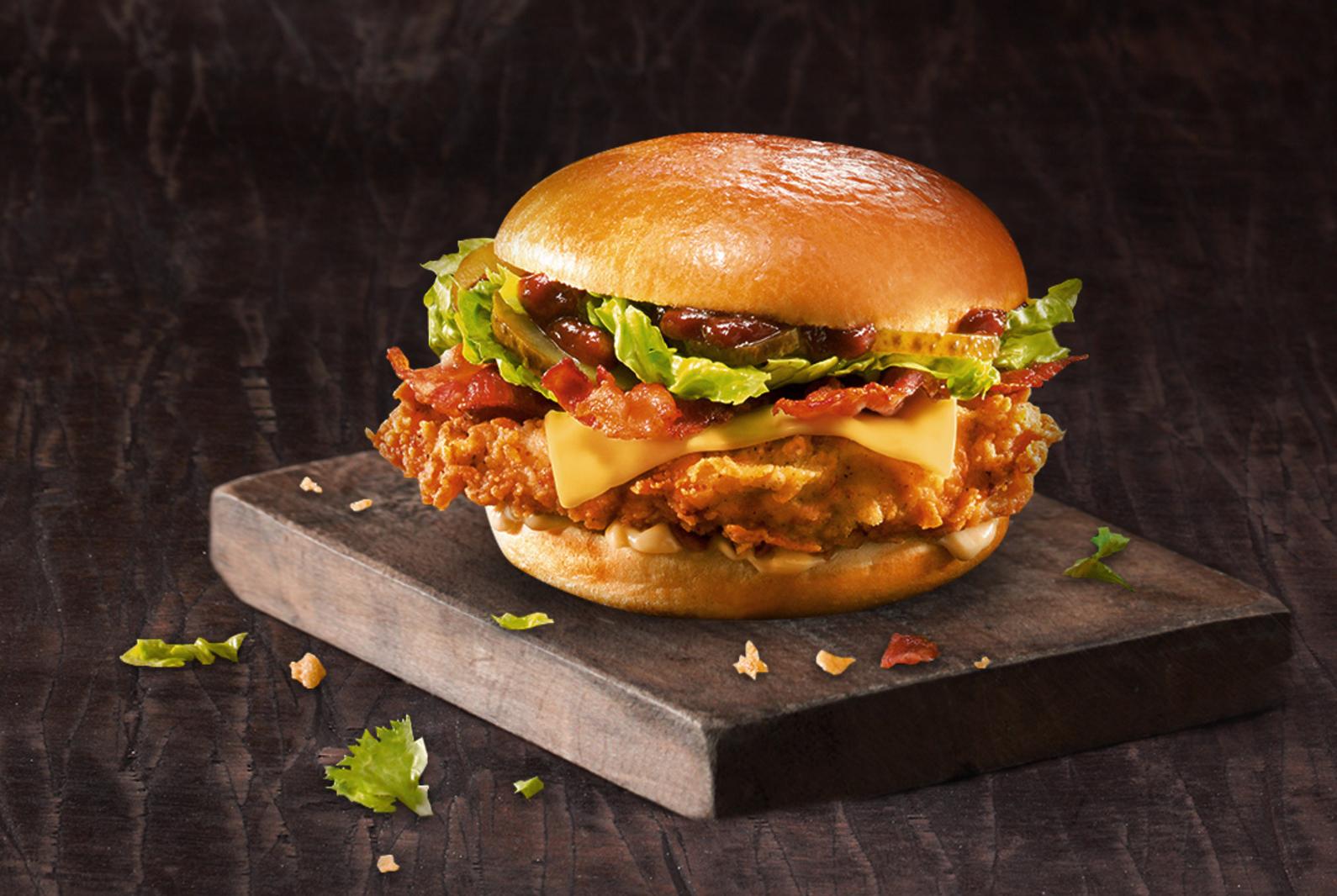 KFC lance le Tennessee Jack Burger avec une sauce barbecue au bourbon