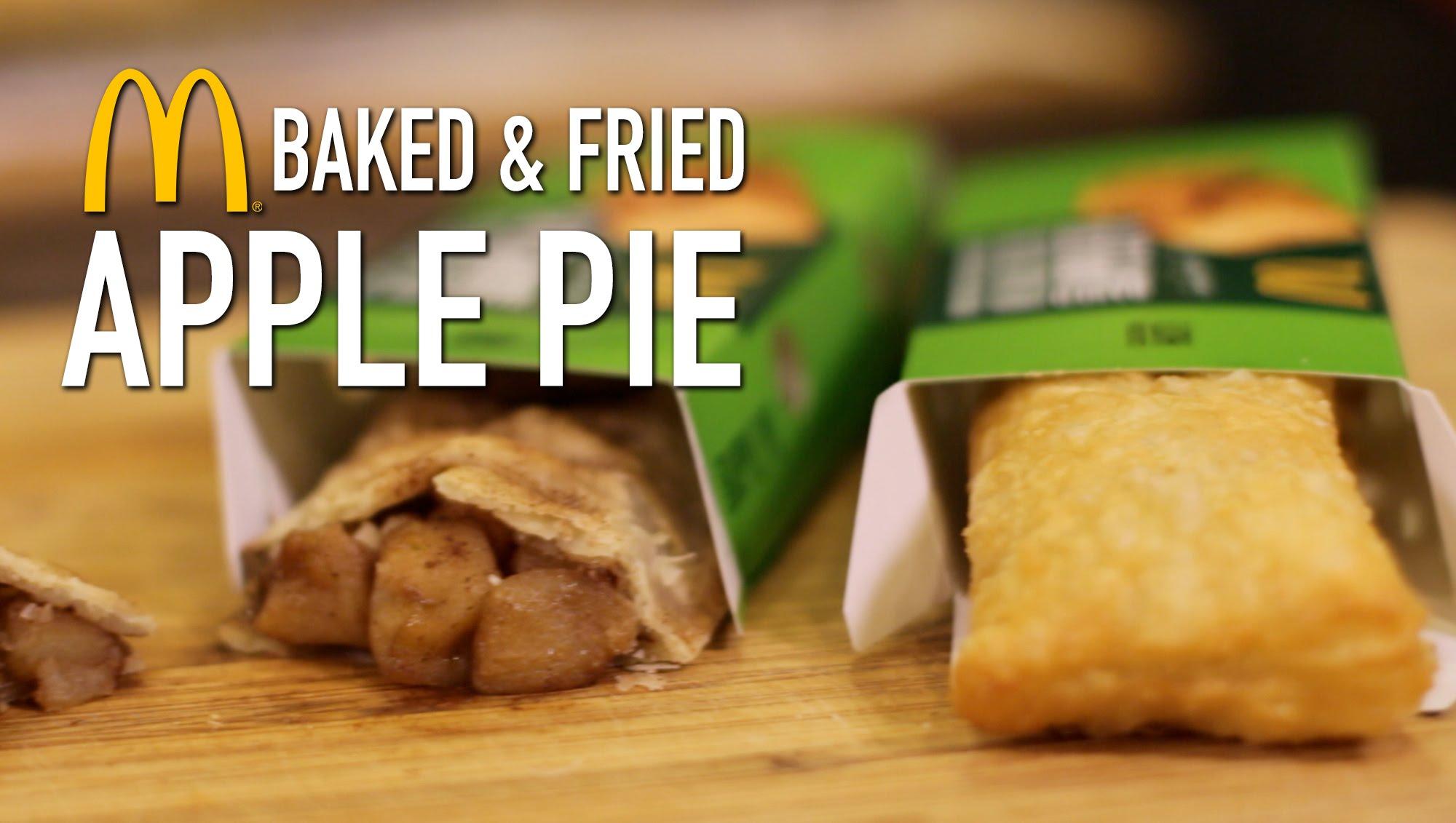 Oubliez l'Apple Pie, McDonald's lance le Chocolate Pie au chocolat fondu