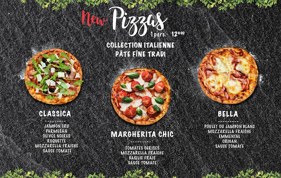 Pizza Hut Restaurants lance une collection de pizzas traditionnelles