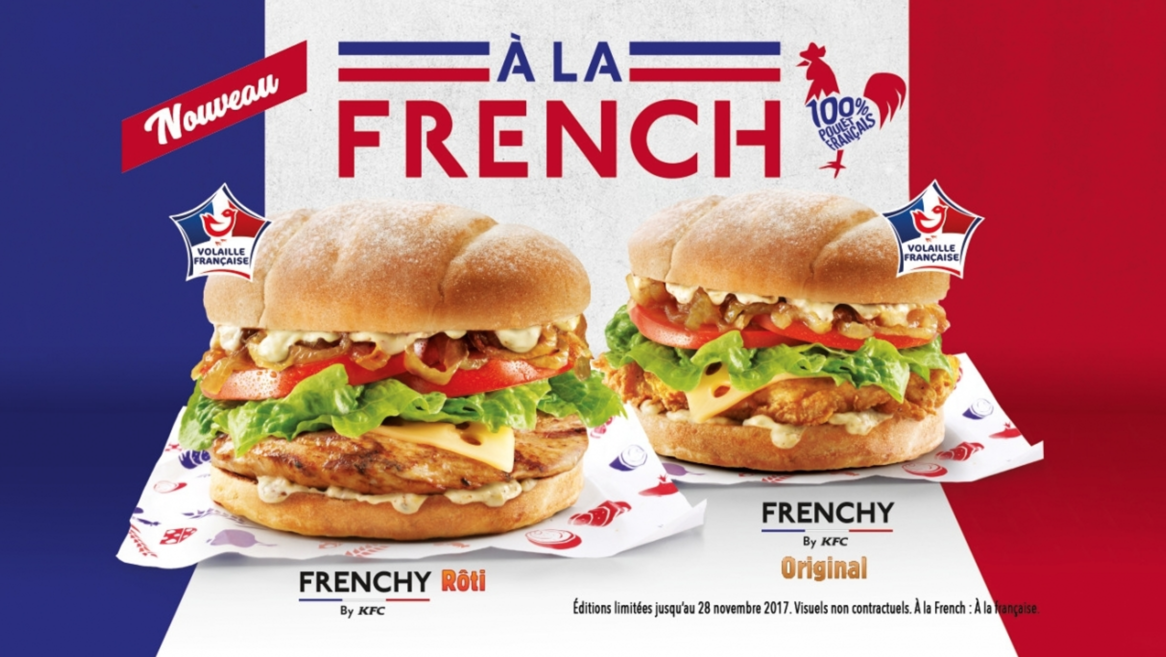 TEST : Le Frenchy Burger de KFC