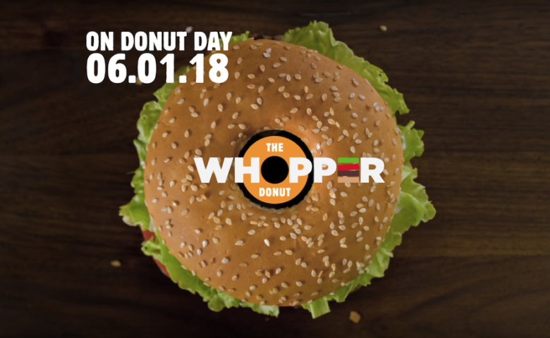 Burger King va lancer un Donut Whopper