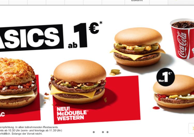 McDonald's lance le Pizza Mac, un nouveau burger !