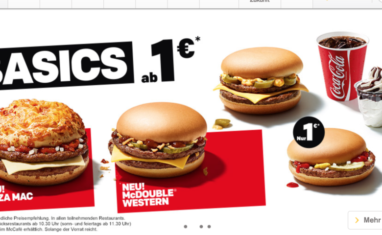 McDonald's lance le Pizza Mac, un nouveau burger !