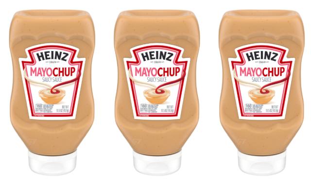 Heinz lance enfin la Mayochup aux Etats-Unis
