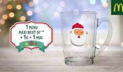 Les Mugs de Noel sont chez McDonald's