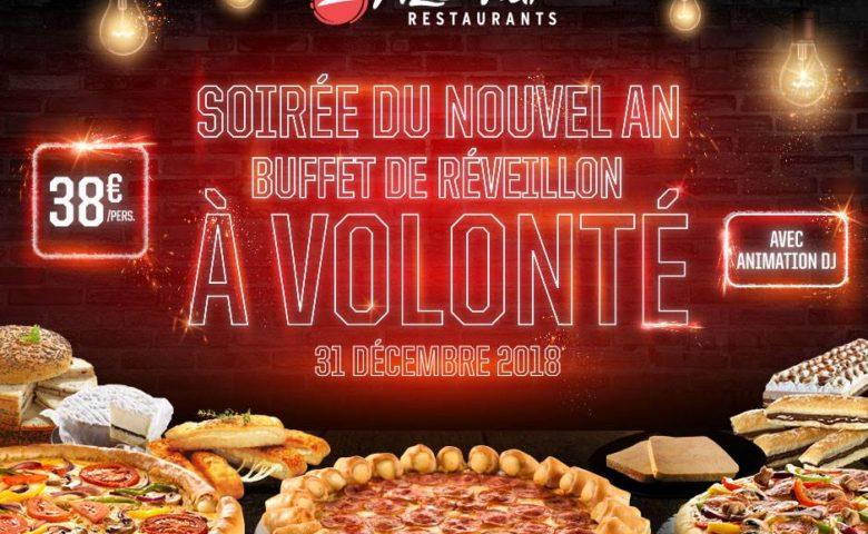 Pizza Hut Restaurants : Le Buffet de réveillon à volonté de folie !